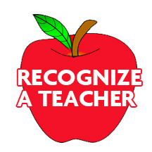 Recognize a Teacher Apple Icon