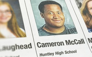 Cameron McCall in the Daily Herald