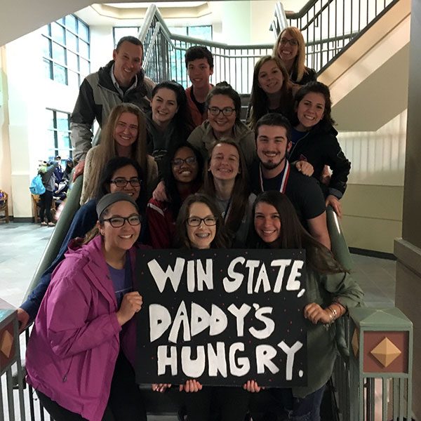 HHS Journalism Members at State