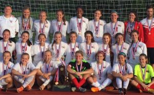 Girls Soccer 2016 4th Place at state