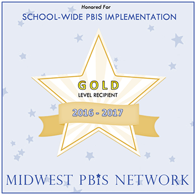 Midwest PBIS Network Gold Recognition