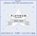 PBIS Platinum Recognition Decal
