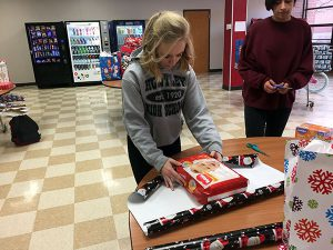 NHS Students Adopt a Family