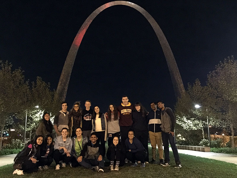 FBLA Students in St. Louis