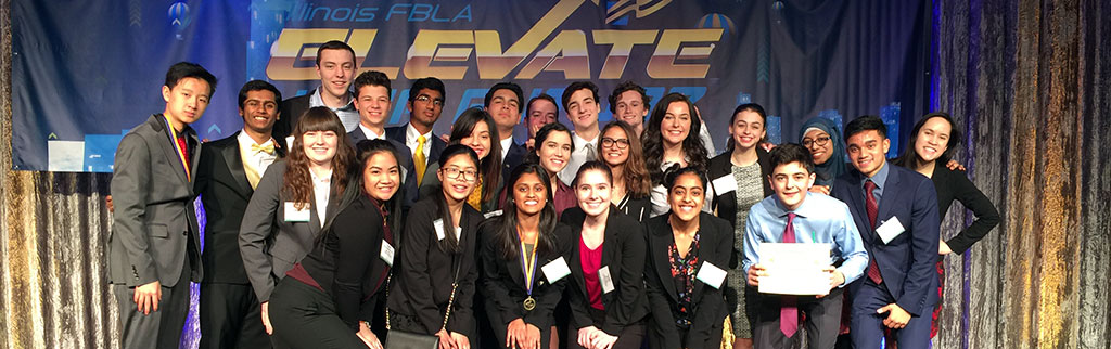 HHS FBLA Students at State