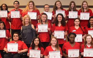Youth Residency Program Graduates 2018