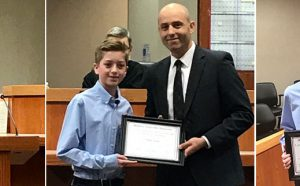 Dylan Lyon Essay Contest Winner McHenry County Bar Association