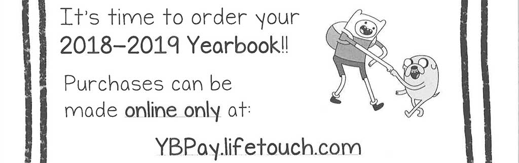 Order your 2018-19 yearbook