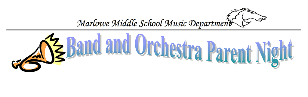 Band and Orchestra Parent Night