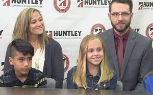 Huntley 158 Today: Transition to 6th Grade