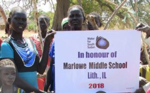 Marlowe Well in Sudan