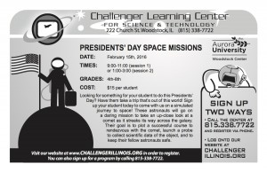 11.13.15 - Challenger Learning Center Space Missions