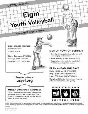 Elgin Youth Volleyball