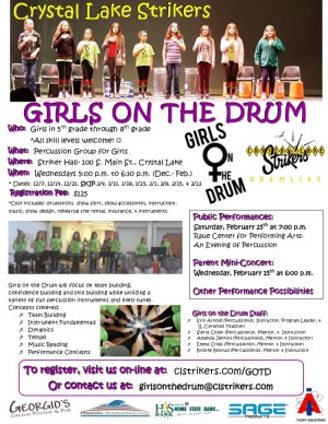 Girls on the Drum fall winter 2016 and 2017