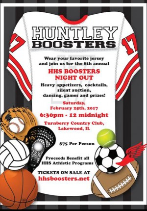 Boosters Night Out Flyer
