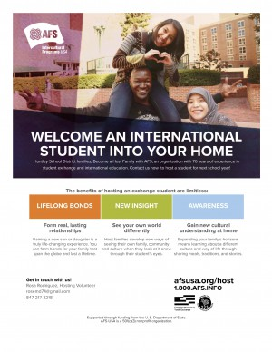 Exchange Students Flyer