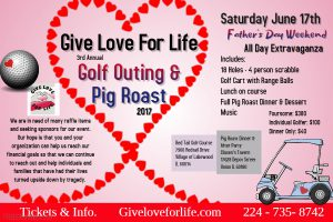 GLFL Golf Outing flyer