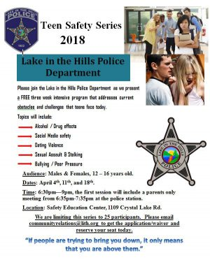 LITH Teen Safety Series