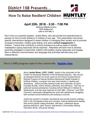 How to Raise Resilient Children