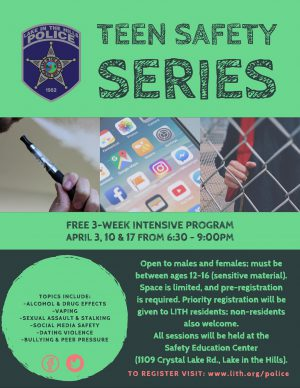 LITH Police Teen Safety Series
