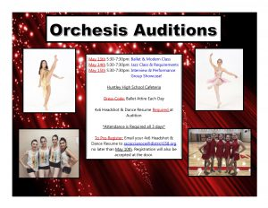 Orchesis Auditions