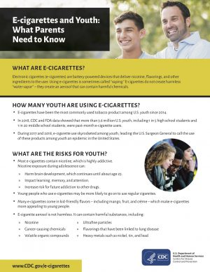 e-Cigarettes and Youth