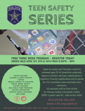 LITH PD Teen Safety Series