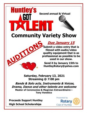 Huntley's Got Talent