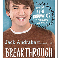 Jack Andraka Breakthrough book cover