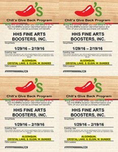 HHS Fab Chili's Coupon