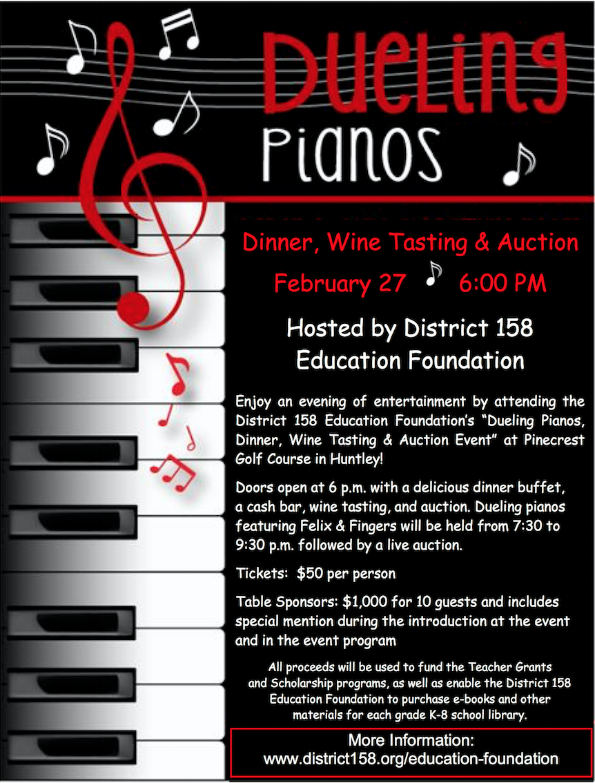 Dueling Pianos Ad