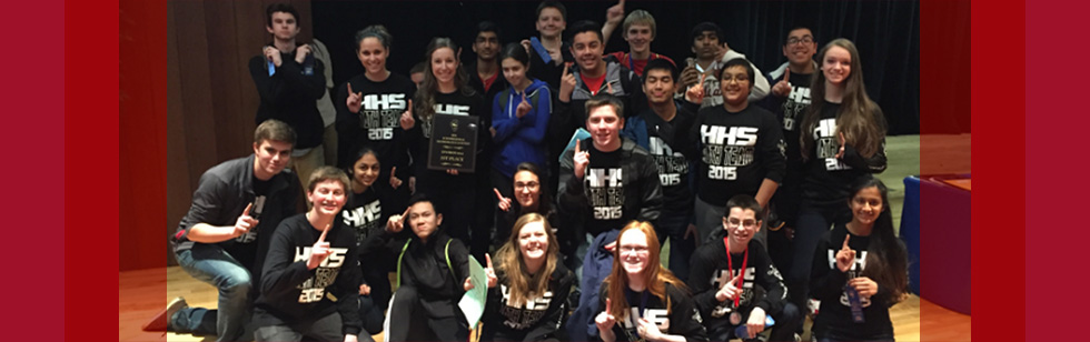 HHS Math Team wins 2016 regionals