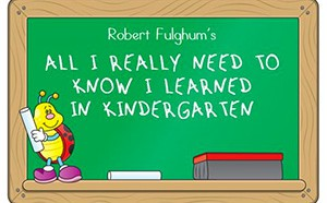 All I really need to know I learned in Kindergarten icon