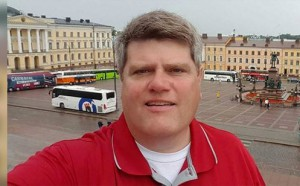 Superintendent John Burkey visited Finland on an educational tour.