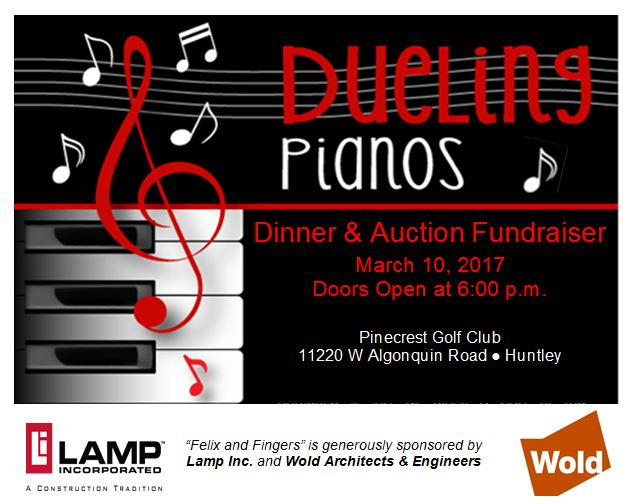 Dueling Pianos Mini Poster 2017 for Website