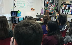 Class watches Girl Rising