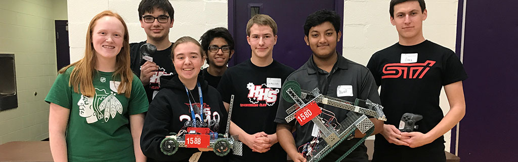 HHS Robotics Competitors