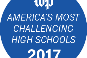 Washington Post Most Challenging Schools Badge