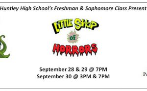 Little Shop of Horrors at HHS September 28-20