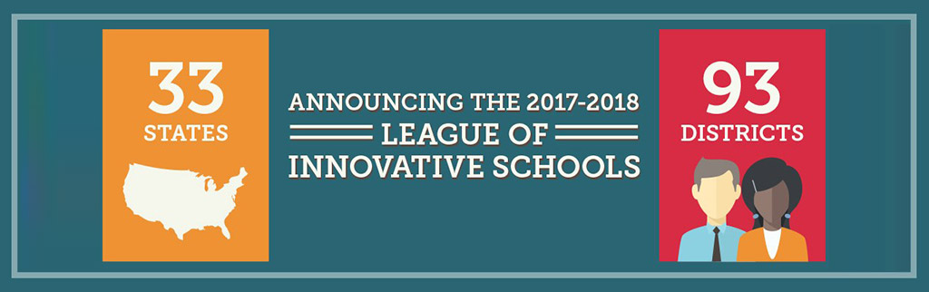 League of Innovative Schools Banner