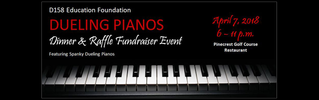 Dueling Pianos Event April 7, 2018