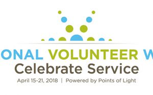 National Volunteer Week logo