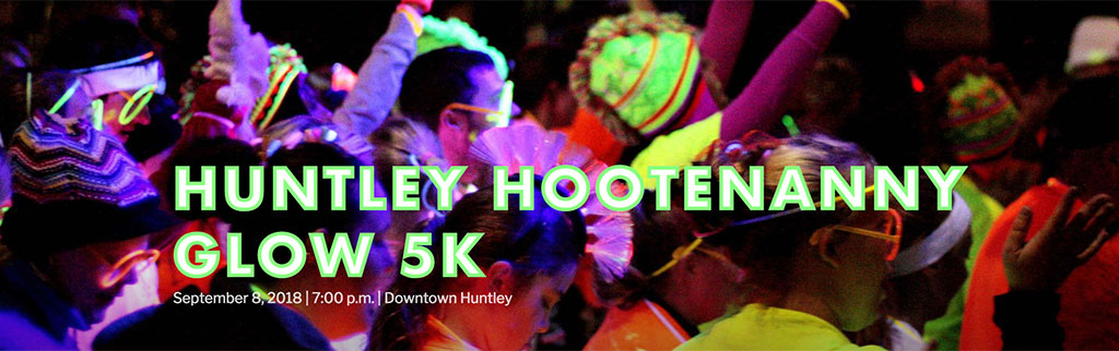 Huntley Hootenanny 5K Glow Fun Run