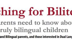 Teaching for Biliteracy Event Banner