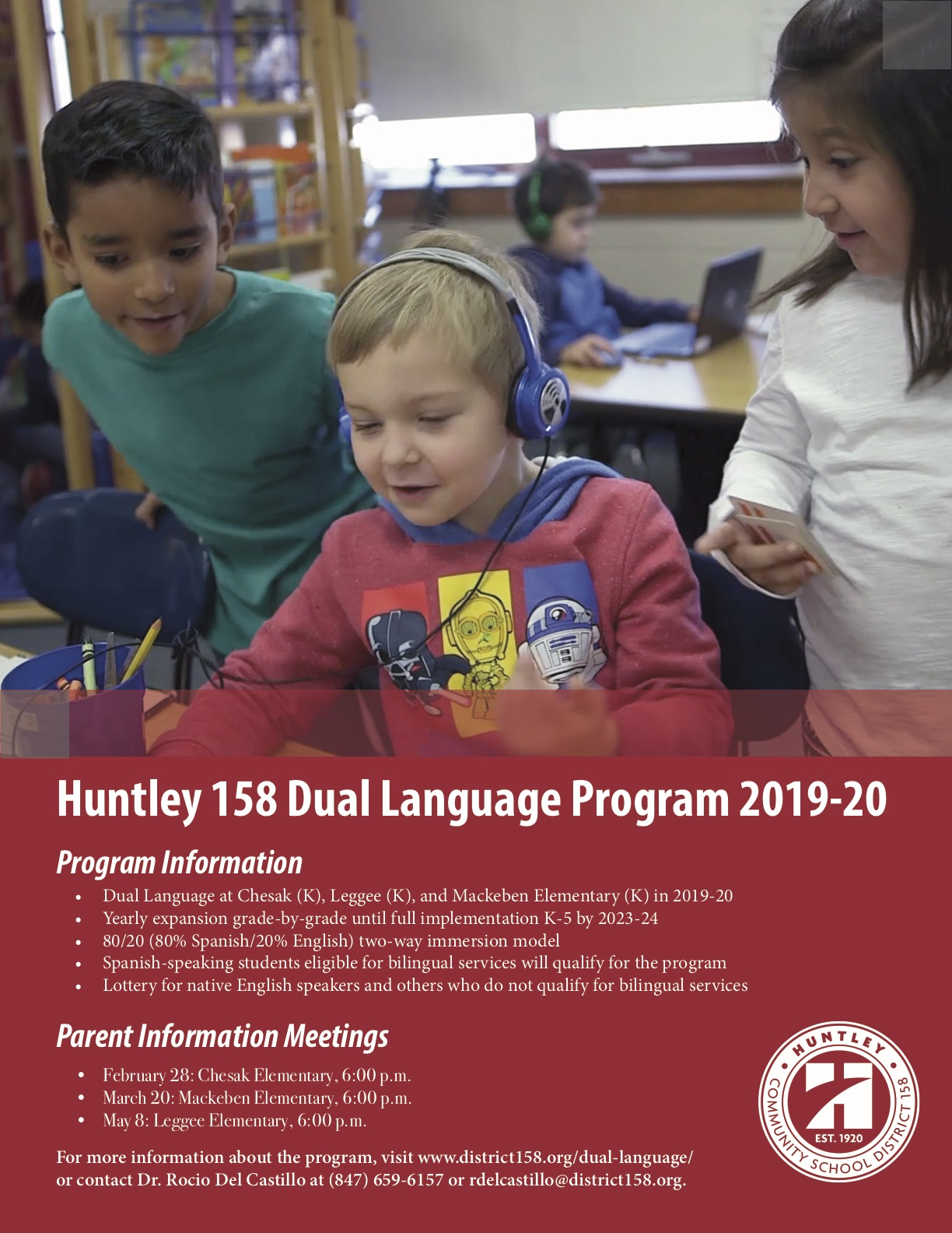 Dual Language Flyer 2019-20