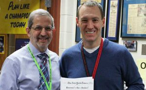 Huntley High School Teacher Dennis Brown Receives Tidwell Award