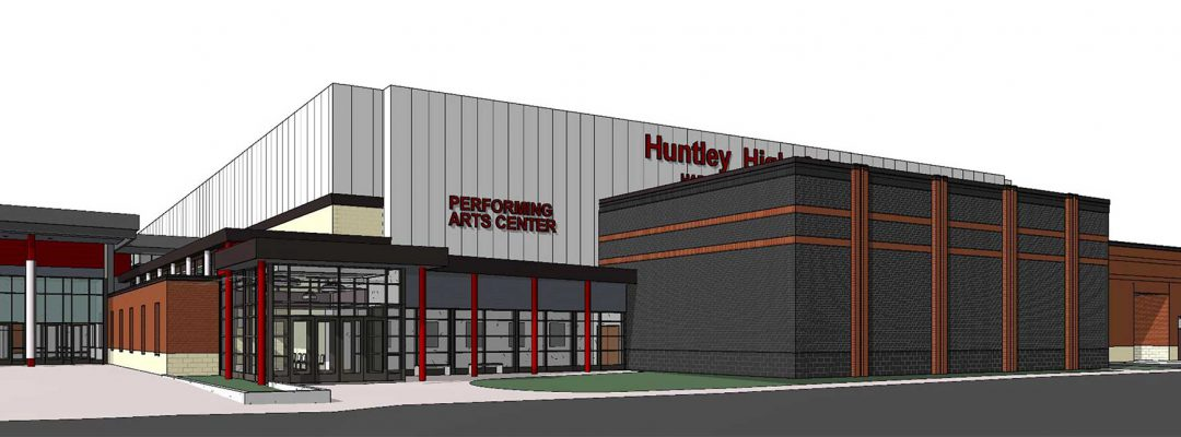 Rendering of HHS Fine Arts Addition
