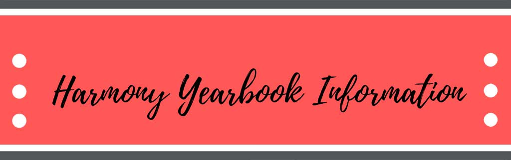 Harmony Yearbook Information