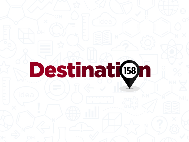 Destination 158 logo
