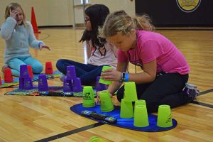 Leggee Students Sport Stacking